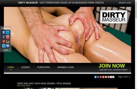 dirtymasseur.com