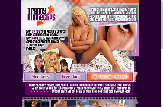 tranny movie clips
