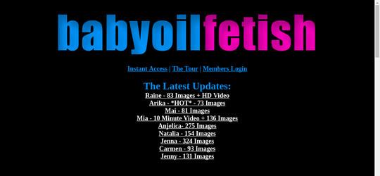 babyoilfetish.com