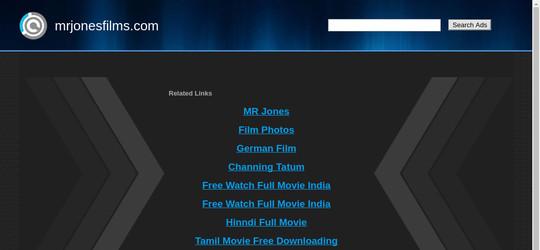 mrjonesfilms.com