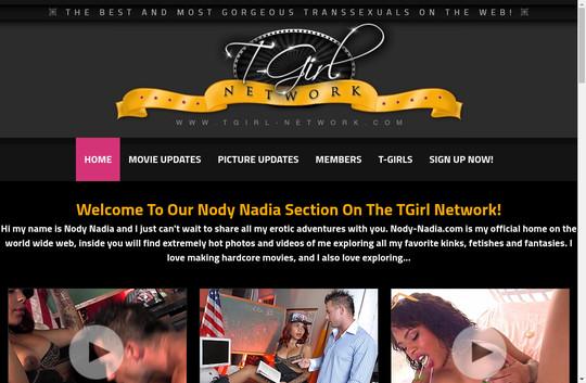 nody nadia tgirl network