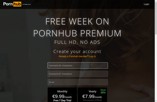 pornhub premium subscription