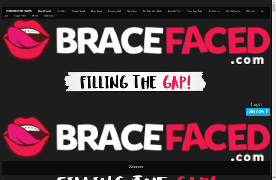 bracefaced