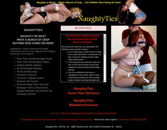 naughty ties