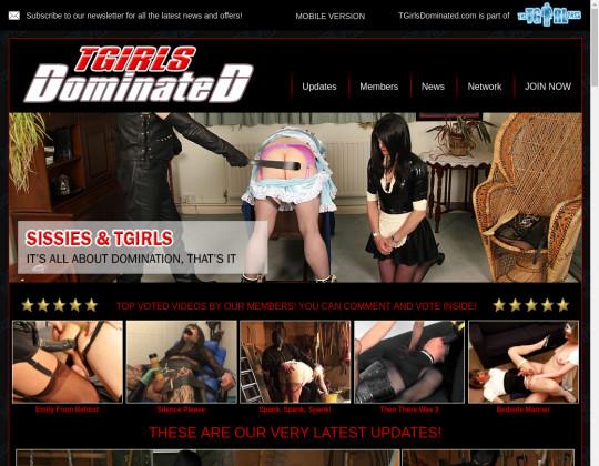tgirls dominated