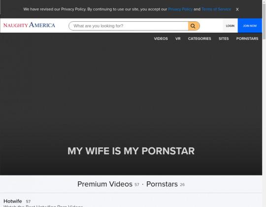 my wife is my pornstar
